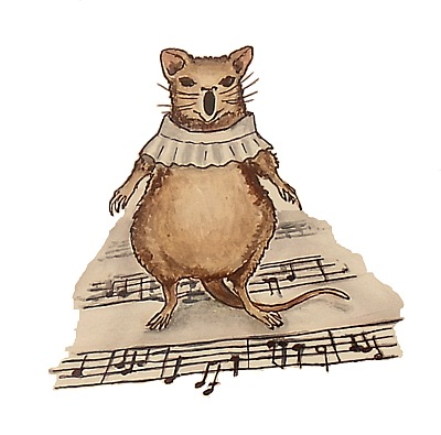 a mouse chorister